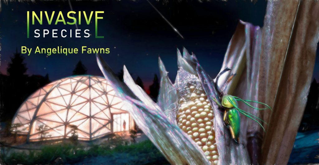 science fiction cover of Invasive Species