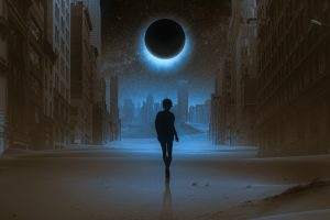 fantasy, eclipse, atmosphere